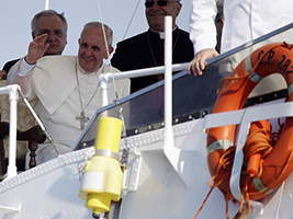 Pope Francis Visits Lampedusa