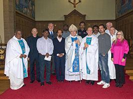 Stranded seafarers join Aberdeen Stella Maris Mass