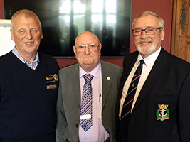 Rotary members learn about AoS work