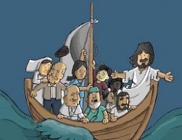 Covid-19: The Church and the People of the Sea