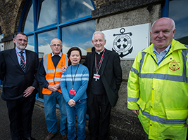 AoS Sheerness seafarers centre launched