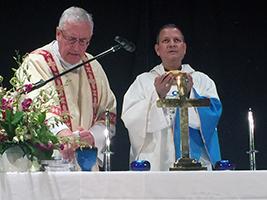AoS Vatican Mass on MV Azura
