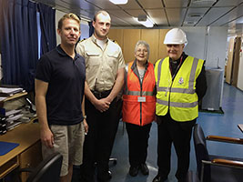 AoS welcomes Bishop Alan on board