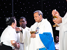 AoS celebrates Mass for Britannia crew
