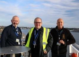 Bishop Robert Tyne visit