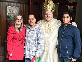 AoS helps seafarers celebrate Easter