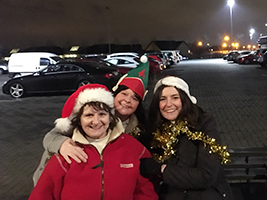 AoS holds bucket collection at Celtic Park