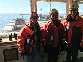 Vancouver seminarians reach out to seafarers