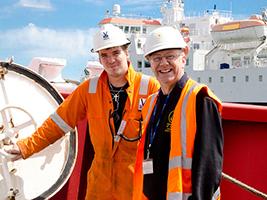 Service on ship for dead seafarer