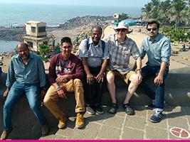 Reunited with Malaviya Seven crew