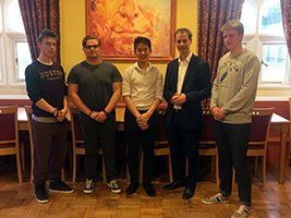Students thrilled to learn about seafarers