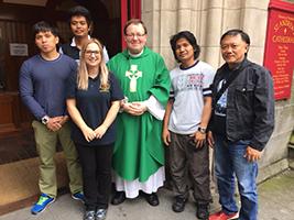 Humbled by seafarers' faith