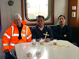 AoS to bring Easter joy to crew