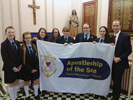 Schoolgirls learn about AoS
