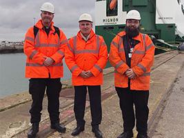 AoS Vice Chair Southampton port visit