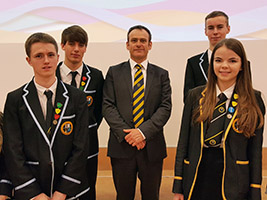 Pupils engage with Year of Mercy resource