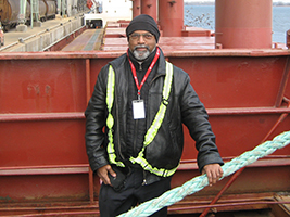 Maersk crew supported in Canada
