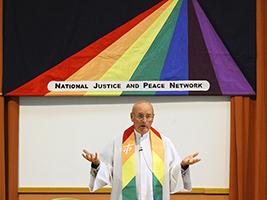 Fr Colum at NJPN Conference