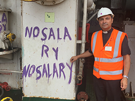 Durban: Unpaid crew supported