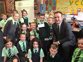 Scottish schools do their bit