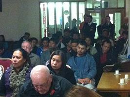 AoS chaplain celebrates Mass for typhoon hit seafarers
