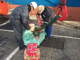 Ensuring seafarers are not forgotten at Christmas