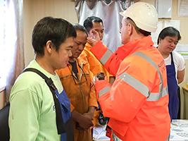 Seafarers mark Ash Wednesday on ships