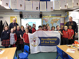 Bodmin pupils learn about seafarers