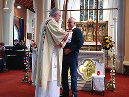 AoS supporter gets Papal Medal
