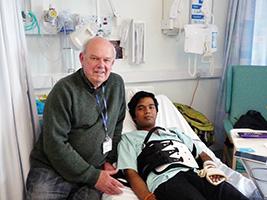 Seafarer badly injured