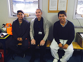 Seafarers grateful for AoS support