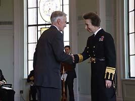 AoS ship visitor honoured