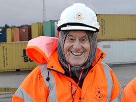 Warm welcome for seafarers