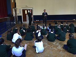 Purley pupils learn about seafarers