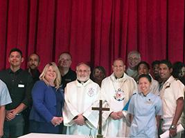 Mass for mv Oceana crew