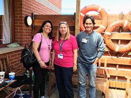 Seafarer reunites with sister
