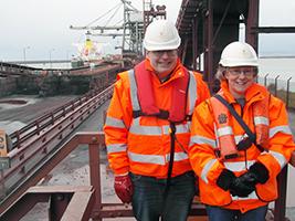 New Port Talbot ship visitors