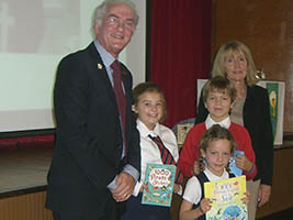 Pupils get creative for seafarers