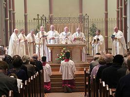 Stella Maris Mass held in Portsmouth