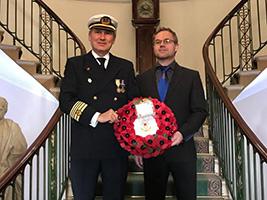 Seafarers remembered