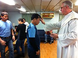 AoS helps crew live their faith
