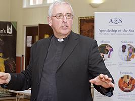 AoS port chaplain awarded British Empire Medal