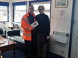 Seafarer leaves legacy to AoS
