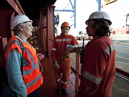 Meeting ship crews pastoral needs