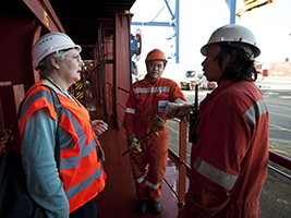 Supported crew vital to supply chain