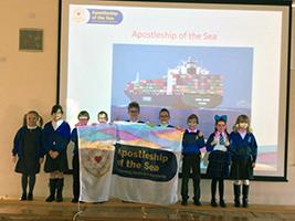 Seafarers plight touch Falkirk pupils