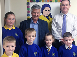 AoS schools talk in Tullibody