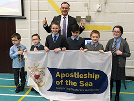 AoS Stepps up in Scottish schools