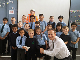 Glasgow pupils raise funds for seafarers