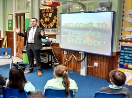 Inverclyde pupils learn about seafarers